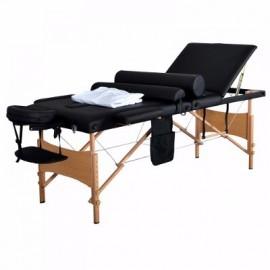 Camilla de masaje portatil + accesorios