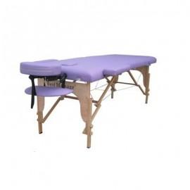 Camilla de masaje portatil morada