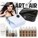 Sistema de maquillaje aerografico