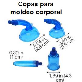 COPA DELFÍN PARA MOLDEO CORPORAL Y DRENAJE LINFATICO
