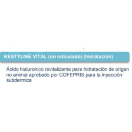 RESTYLINE VITAL (no reticulado) (hidratación)
