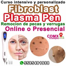 CURSO PLASMA PEN + FIBROBLASTS + ELECTROLIFTING + RETIRADO DE PECAS Y VERRUGA