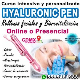 HYALURONIC PEN, rellenos faciales y activos de mesoterapia (Biorevitalizacion)