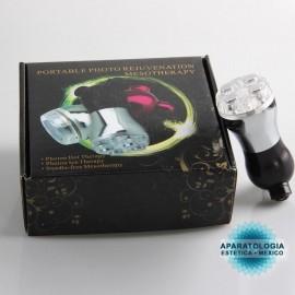Dispositivo portátil de rejuvenecimiento para el cuidado de la piel con fotones de mesoterapia