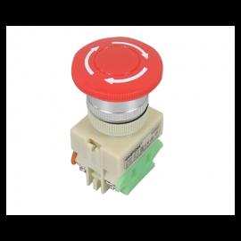 Interruptor de emergencia, Onpow, Y090-11TS, Φ22mm