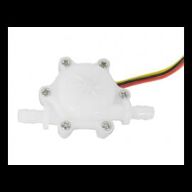 Sensor de flujo de agua, 3 cables, diámetro interior 3 mm