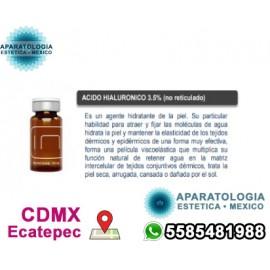 ACIDO HIALURONICO 3.5% (no reticulado)