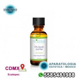 Exfoliación con ácido glicólico al 70% (30 ml)