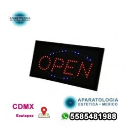 LED intermitente de señal abierta