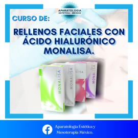 CURSO DE RELLENOS FACIALES CON ACIDO HIALURÓNICO MONALISA