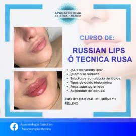 CURSO DE RUSSIAN LIPS O TECNICA RUSA